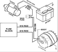 painlessalternatorwiring electrical problem voltage drop ls1tech on ls1 alternator wiring diagram