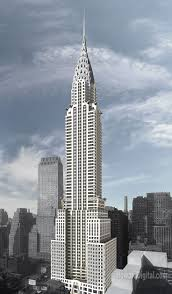 chrysler building blueprint. the chrysler building william van allen blueprint