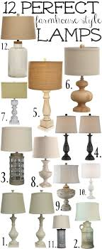 kinds of lighting fixtures. 12 Perfect Farmhouse Style Lamps | Kinds Of Lighting Fixtures