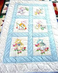 St&ed Embroidery Baby Quilts – co-nnect.me & ... Stamped Embroidery Baby Quilt Tops Stamped Embroidery Baby Quilt Blocks  Baby Quilt Tops To Embroider Amish ... Adamdwight.com