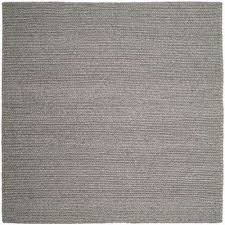 natura steel 6 ft x 6 ft square area rug