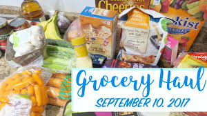 sobeys grocery haul september 10 2017