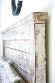 white wood headboard king rustic impressive best ideas on wooden cal