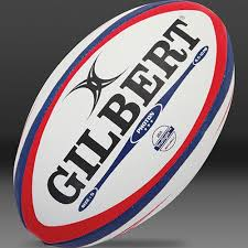 gilbert photon rugby ball red blue