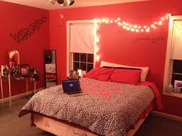 cheetah print and red bedroom photo 1