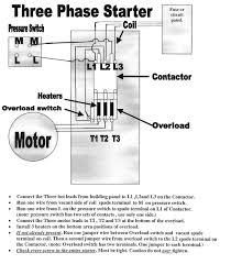 magnetic motor starter wiring diagram how to wire a 3 phase air compressor pressure switch at Magnetic Motor Starter Wiring Diagram