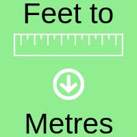 Measurement Conversion Chart Feet To Meters Convert Feet To Metres Results In Metres And Millimetres