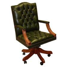 reproduction office chairs. Inadam Furniture - Gainsborough Swivel Desk Chair Choice Of Leather Colours Reproduction Office Chairs R