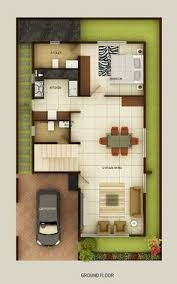 Duplex house plans  Duplex house and Indian style on Pinterest