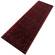 Custom Kitchen Floor Mats Kitchen Runner Rug In Red Available In Custom Sizes Up To 30m Length