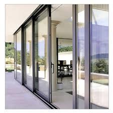 china tempered glass aluminum sliding door roller door closer door stop