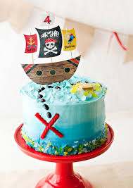 Playful Modern Pirate Birthday Party Ideas Hostess With The