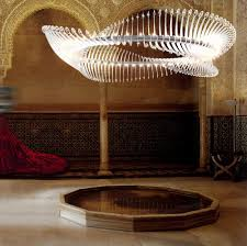 chrysalis by yellow goat design suspended lights