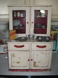 antique toy kitchen cupboard