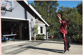 basketball hoop over garage big news on the home front guess who now has a s43