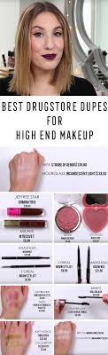 best makeup dupes the best dupes for high end makeup hourgl becca