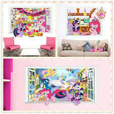 My Little Pony Wallpaper For Bedroom My Little Pony Bedroom Decor Curtains My  Little Pony Curtains .