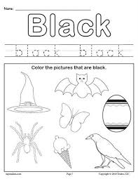 We have hundreds of kids craft ideas, kids worksheets, printable activities for kids and more. Color Black Worksheet Color Worksheets For Preschool Color Worksheets Preschool Worksheets