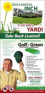 lawncare ad golf green lawn care ad from 2018 05 09 ad vault pantagraph com