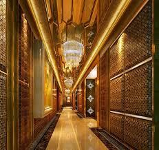 hotel hallway lighting ideas. hotel vip reception with luxury lighting hallway ideas c