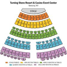 Turning Stone Casino Seating Chart Queensryche Verona Tickets Queensryche Turning Stone