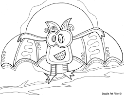 Free Halloween Coloring Pages From Doodle