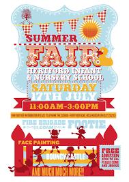 Fundraiser Poster Ideas Gorgeous Hertford Summer Fair Poster Flyer Inspiration