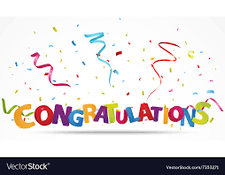 Congratulations Design Congratulations With Confetti
