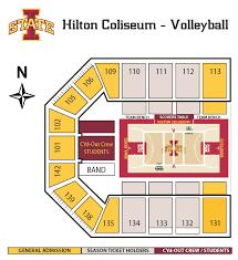 Isu Stadium Seating Chart Facility Seating Charts Iowa State University Athletics
