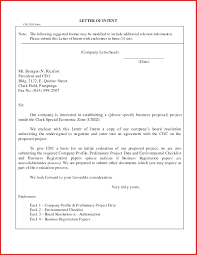 Sample Business Letter Format With Attachment