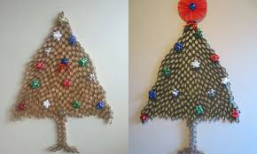 Paper Christmas Tree Ornaments Diy How To Make Christmas Tree From Toilet Paper Roll Youtube