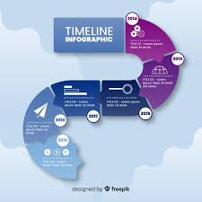 Infographic Path Infographic Path Template Royalty Free