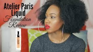 make up atelier paris foundation review queenteshna