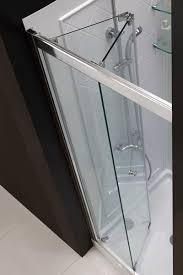 34 36 bifold frameless glass shower door tempered chrome 36 inch wide sliding shower door