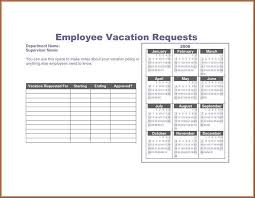 Holiday Request Form Best How To Make Proper Vacation Request Form 48 SearchExecutive