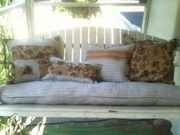 38 best porch swing cushions images on patio swing converts to bed