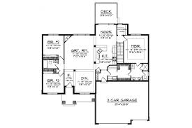 exclusive ranch house plans with laundry off master bedroom 1 closet opens to the room hwbdo75804