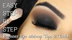 beginner eye makeup tips tricks step by step smokey eye makeup