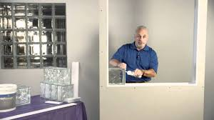how to install pittsburgh corning glass block