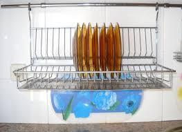 Plate Storage Rack Kitchen Kitchen Desaign 1pcs Dish Drainer Rack Useful Organizer