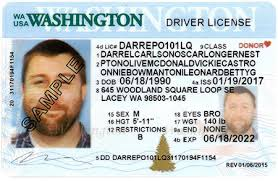 Driver Licensing State Designs Official Site dol Wa License