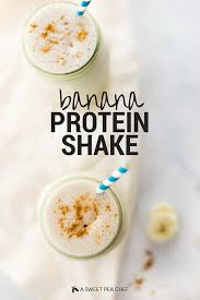 banana protein shake enjoy this delicious banana protein shake that is one of the best