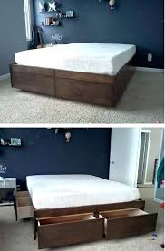 how to make your mattress higher. Brilliant Higher How To Make Your Mattress Higher Platform  With Drawers To How Make Your Mattress Higher