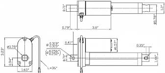 concentric lactp v linear actuator feedback dimensional drawing for the concentric ld linear actuators out feedback
