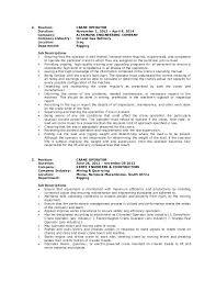 Crane Operator Resume Sample Forklift Operator Job Description For