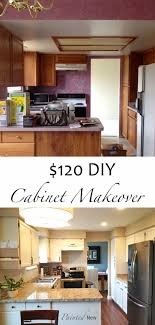 Diy Kitchen Cabinets Makeover Painted New 120 Kitchen Cabinet Makeover