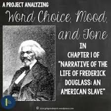 ideas about frederick douglass narrative on pinterest    analyze mood  tone and word choice in frederick douglass    s  quot narrative of the life of