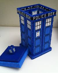 perler tardis tutorial dr who perler beads and big project perler tardis tutorial hama beads patternspearler