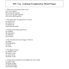 please find the below attached file for the ssc tax assistant model question paper tax assistant