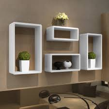 Shelving For Living Room Walls Contemporary Living Room With Wall Storage Cubes Ikea And